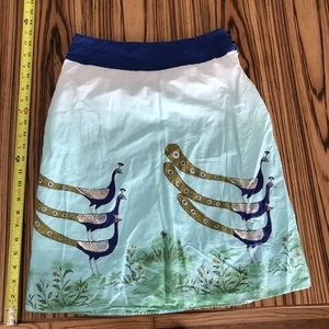 Anthropologie skirt size 0